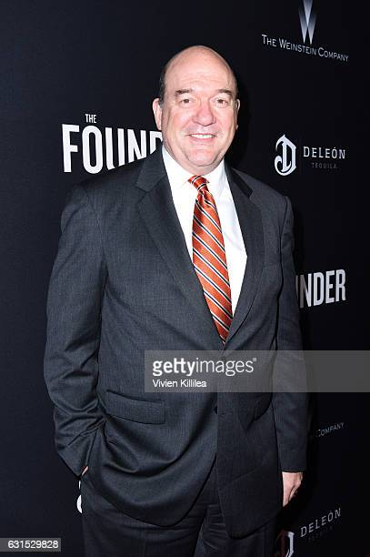 Actors John Carroll Lynch attends 'The Founder' US Premiere Presented By DeLeon Tequila on January 11 2017 in Los Angeles California