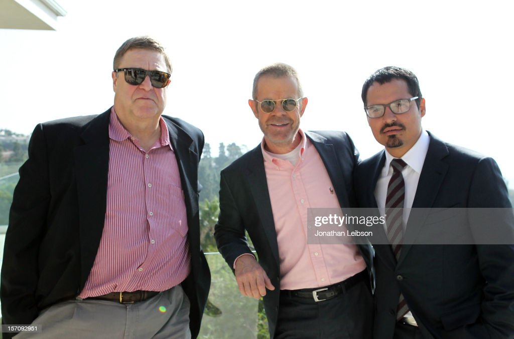 Actors John Goodman, William H. Macy and Michael Pena attend The Variety Studio: Awards Edition held at a private residence on November 28, 2012 in Los Angeles, California.