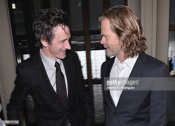 Actors John Hawkes and William H Macy arrive to the Los Angeles premiere of Fox Searchlight Pictures' 'The Sessions' held at the Bing Theatre at...