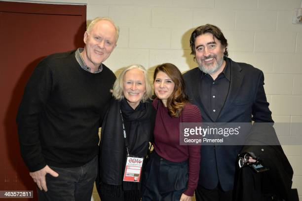 Actors John Lithgow Glenn Close Marisa Tomei and Alfred Molina attend the premiere of 'Love Is Strange' at the Eccles Center Theatre during the 2014...