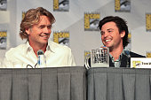 Actors John Schneider and Tom Welling attend the 'Smallville' panel on day 4 of ComicCon International at San Diego Convention Center on July 25 2010...