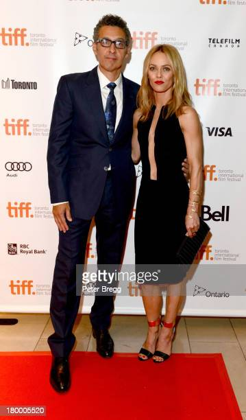 Actors John Turturro and Vanessa Paradis arrive for 'Fading Gigolo' Premiere at the 2013 Toronto International Film Festival at Isabel Bader Theatre...