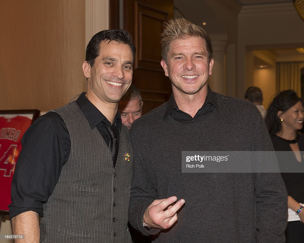 Actors Johnathon Schaech and Kenny Johnson attend the 7th Annual Ante Up For Autism Event At The St. Regis Monarch Beach Resort on October 12, 2013 in Dana Point, California.