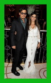 Actors Johnny Depp and Penelope Cruz attend an after party celebrating the UK Premiere of 'Pirates of the Caribbean On Stranger Tides' at Massimo...