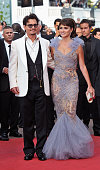 Actors Johnny Depp and Penelope Cruz attend the 'Pirates of the Caribbean On Stranger Tides' Premiere during the 64th Annual Cannes Film Festival at...