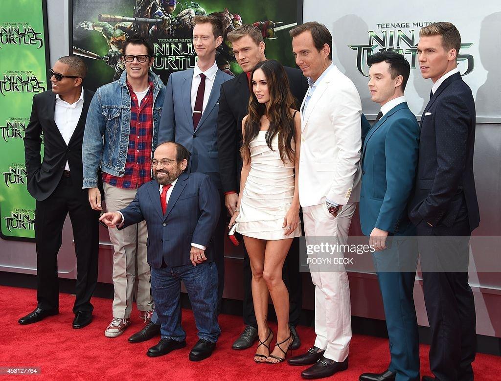 "Premiere Of Paramount Pictures' ""Teenage Mutant Ninja Turtles"" - Arrivals"