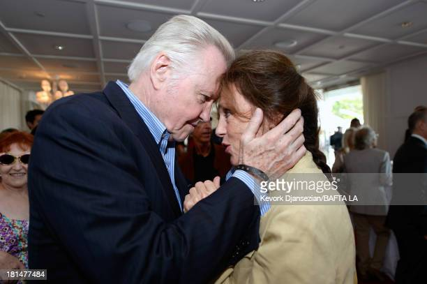 Actors Jon Voight and Jacqueline Bisset attend the BAFTA LA TV Tea 2013 presented by BBC America and Audi held at the SLS Hotel on September 21 2013...
