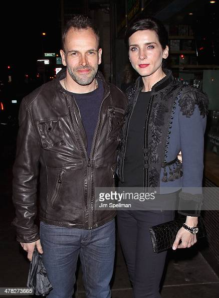 Actors Jonny Lee Miller and Michele Hicks attend Sony Pictures Classics' 'Only Lovers Left Alive' screening hosted by The Cinema Society and Stefano...