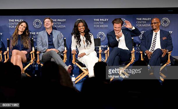Actors Jordana Brewster Kevin Rahm Keesha Sharp Clayne Crawford and Damon Wayans Sr at The Paley Center for Media's 10th Annual PaleyFest Fall TV...