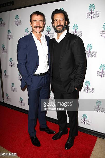 Actors Jose Maria Yazpik and Ben O'Toole attend the screening of 'Everybody Loves Somebody' during the 28th Annual Palm Springs International Film...