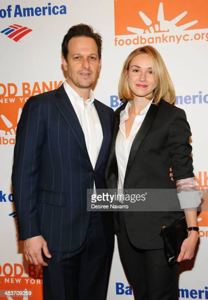 Actors Josh Charles and Sophie Flack attend the 2014 Food Bank Of New York City Can Do Awards at Cipriani Wall Street on April 9 2014 in New York City