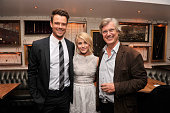 Actors Josh Duhamel and Julianne Hough with director Lasse Hallstrom attend the afterparty for SELF Magazine and Relativity Media's special New York...