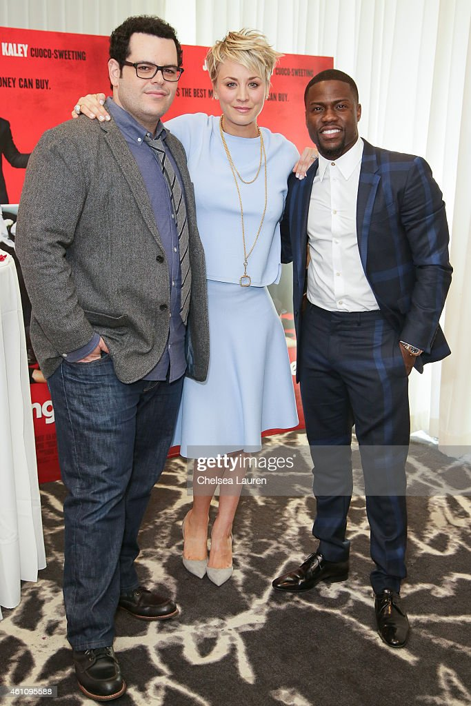 Actors Josh Gad Kaley Cuocosweeting And Kevin Hart Attend The Wedding Picture