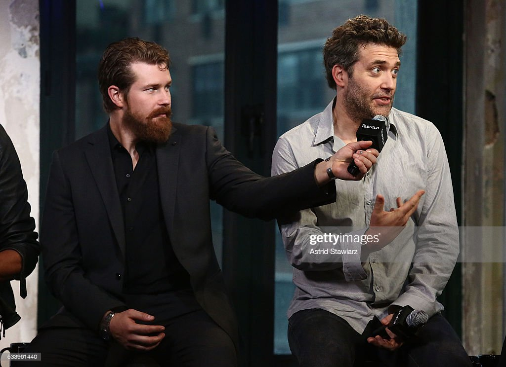 Actors Josh Kelly and Craig Bierko attend AOL Build Presents: The Cast Of 'UnREAL' at AOL Studios In New York on May 24, 2016 in New York City.