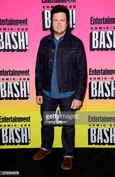 Actors Josh McDermitt attends Entertainment Weekly's ComicCon Bash held at Float Hard Rock Hotel San Diego on July 23 2016 in San Diego California...