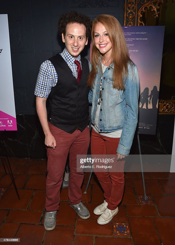 Actors Josh Sussman and Julia Terino attend an advanced screening of Magnolia Pictures' 'Tangerine' sponsored by Sundance NEXT FEST Outfest and The...