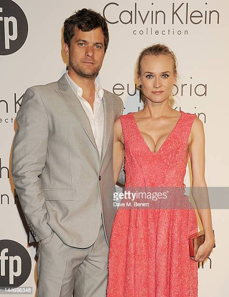 Actors Joshua Jackson and Diane Kruger attend as The IFP Calvin Klein Collection euphoria Calvin Klein celebrate Women In Film during the 65th Cannes...