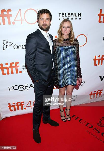 Actors Joshua Jackson and Diane Kruger attend the 'Disorder' premiere during the 2015 Toronto International Film Festival at Roy Thomson Hall on...