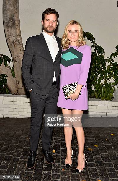 Actors Joshua Jackson and Diane Kruger attend the W Magazine celebration of the 'Best Performances' Portfolio and The Golden Globes with Cadillac and...