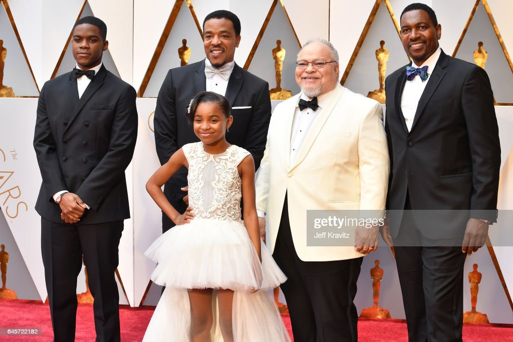 Actors Jovan Adepo, Russell Hornsby, Saniyya Sidney, Stephen Henderson and Mykelti Williamson attend the 89th Annual Academy Awards at Hollywood & Highland Center on February 26, 2017 in Hollywood, California.
