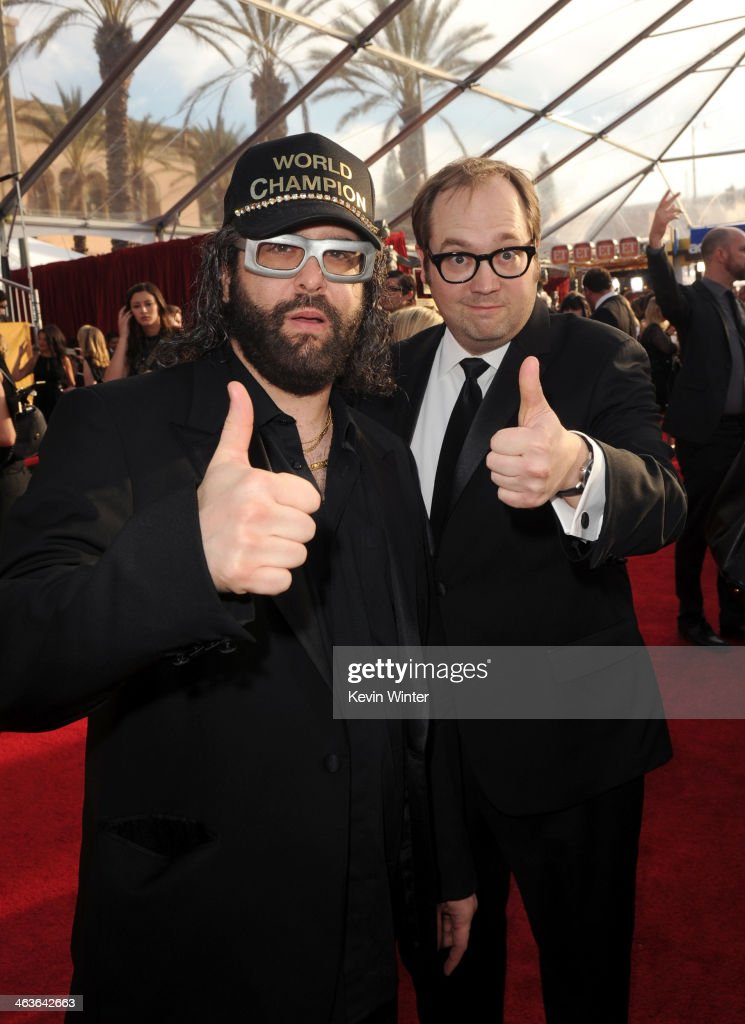 Actors Judah Friedlander and John Lutz attend 20th Annual Screen Actors Guild Awards at The Shrine Auditorium on January 18 2014 in Los Angeles...