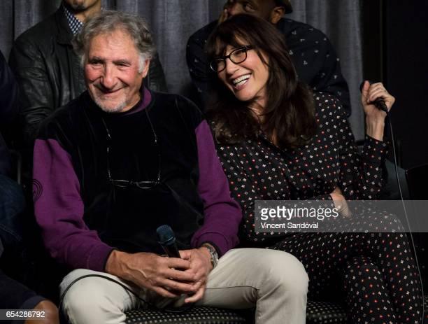 Actors Judd Hirsch and Katey Sagal attend SAGAFTRA Foundation's Conversations with 'Superior Donuts' at SAGAFTRA Foundation Screening Room on March...