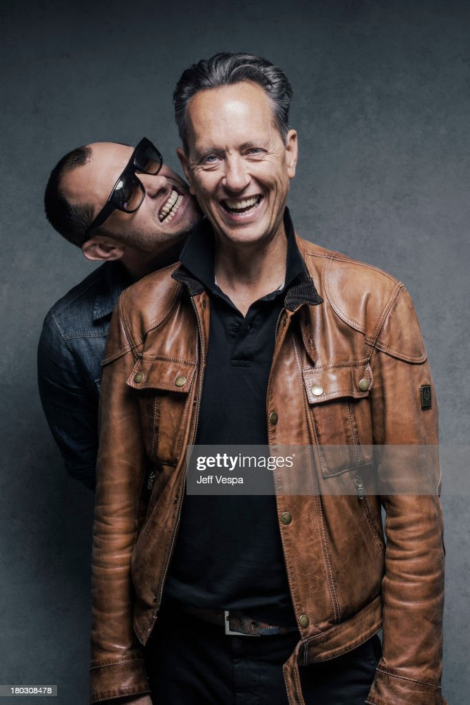 Actors <a gi-track='captionPersonalityLinkClicked' href=/galleries/search?phrase=Jude+Law&family=editorial&specificpeople=156401 ng-click='$event.stopPropagation()'>Jude Law</a> and <a gi-track='captionPersonalityLinkClicked' href=/galleries/search?phrase=Richard+E.+Grant&family=editorial&specificpeople=160448 ng-click='$event.stopPropagation()'>Richard E. Grant</a> are photographed at the Toronto Film Festival on September 9, 2013 in Toronto, Ontario.