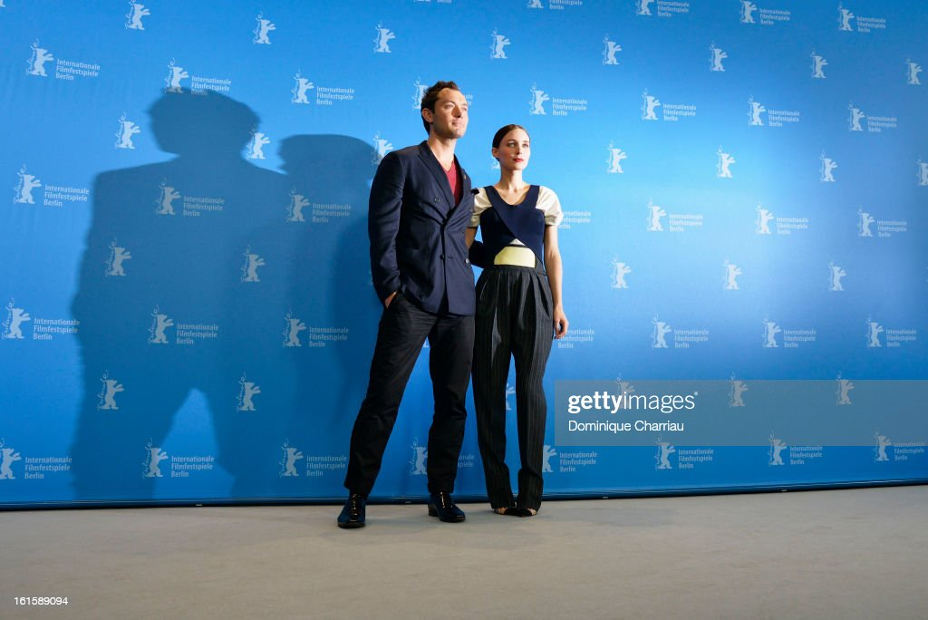 Actors Jude Law and Rooney Mara attend the 'Side Effects' Photocall during the 63rd Berlinale International Film Festival at the Grand Hyatt Hotel on...