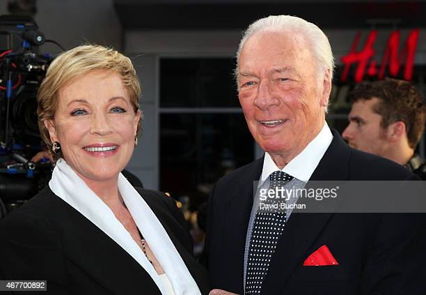 Actors Julie Andrews and Christopher Plummer attend the 2015 TCM Classic Film Festival Opening Night Gala 50th anniversary screening of 'The Sound Of...