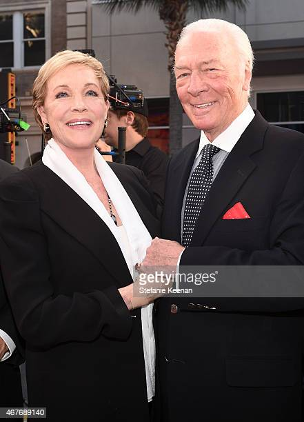 Actors Julie Andrews and Christopher Plummer attend the Opening Night Gala and screening of The Sound of Music during the 2015 TCM Classic Film...