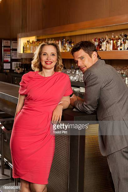Actors Julie Delpy and Ethan Hawke are photographed for USA Today on May 17 2013 in New York City