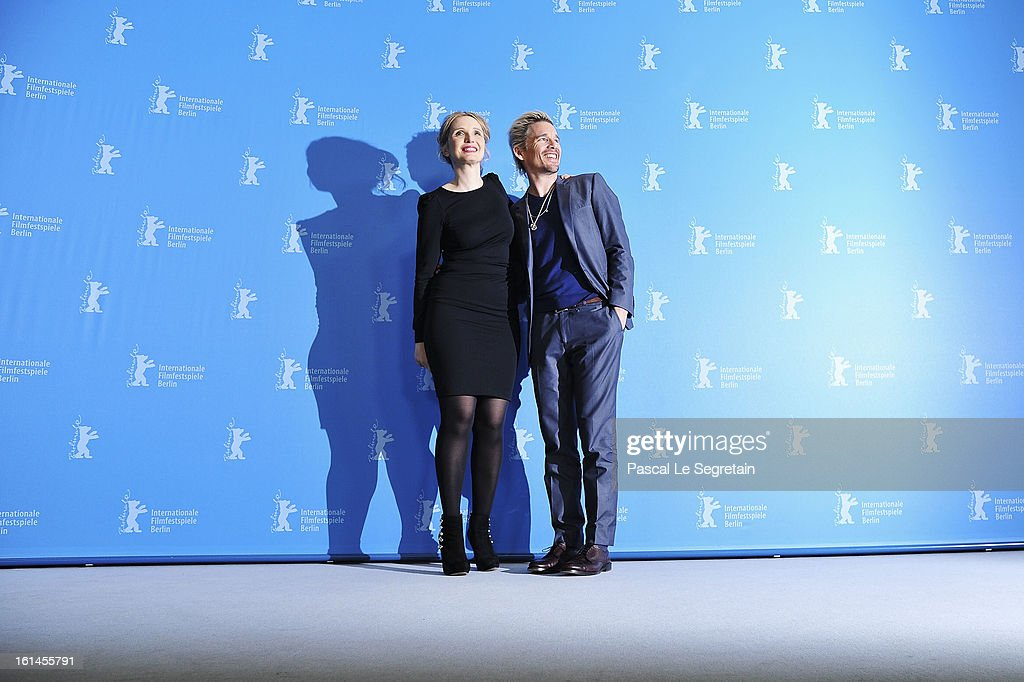 Actors Julie Delpy and Ethan Hawke attend the 'Before Midnight' Photocall during the 63rd Berlinale International Film Festival at the Grand Hyatt Hotel on February 11, 2013 in Berlin, Germany.