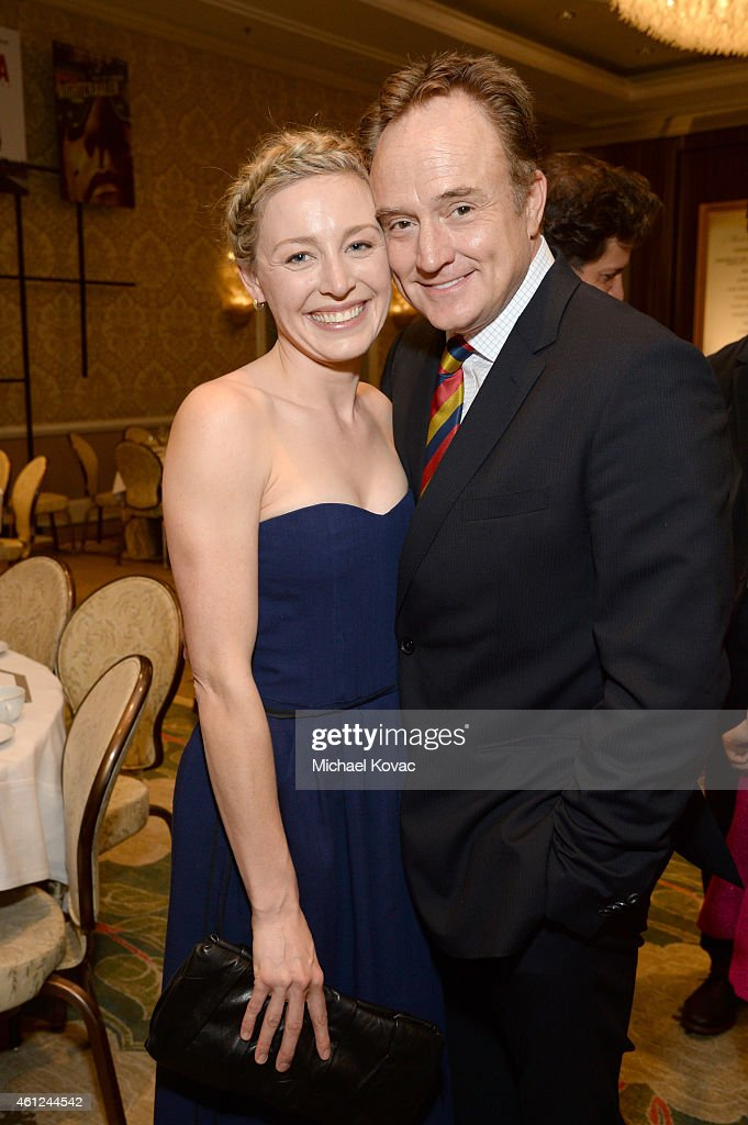 Actors Juliet Rylance (L) and Bradley Whitford attend the 15th Annual AFI Awards Luncheon at Four Seasons Hotel Los Angeles at Beverly Hills on January 9, 2015 in Beverly Hills, California.