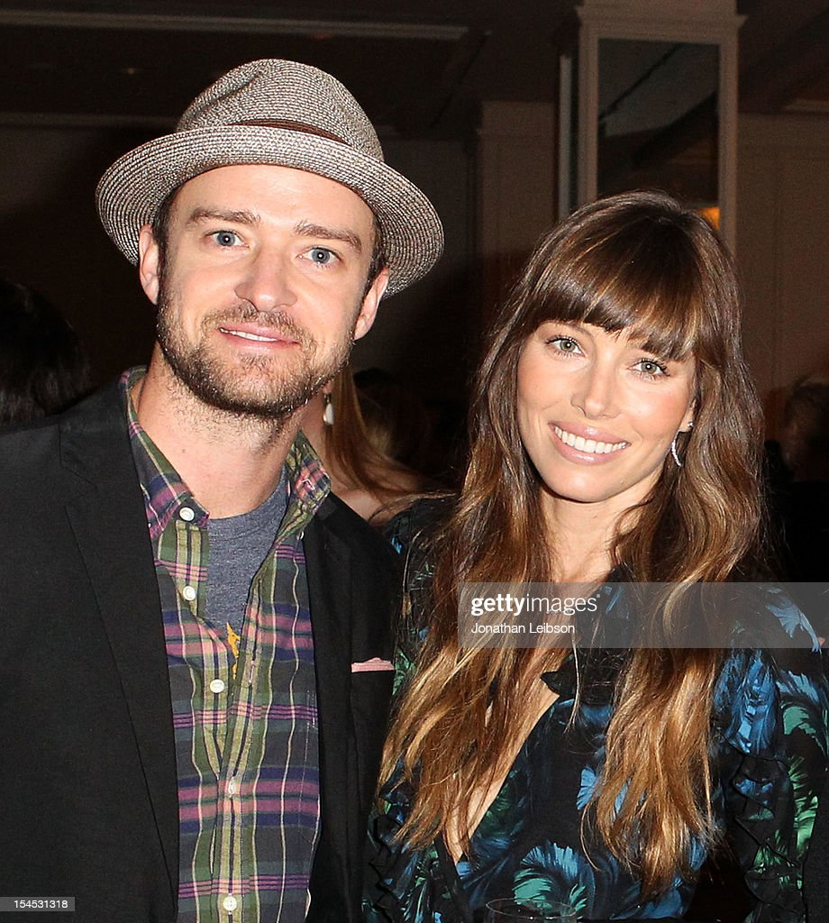 Actors <a gi-track='captionPersonalityLinkClicked' href=/galleries/search?phrase=Justin+Timberlake&family=editorial&specificpeople=157482 ng-click='$event.stopPropagation()'>Justin Timberlake</a> and <a gi-track='captionPersonalityLinkClicked' href=/galleries/search?phrase=Jessica+Biel&family=editorial&specificpeople=203011 ng-click='$event.stopPropagation()'>Jessica Biel</a> attend the Variety's 4th Annual Power Of Women Event Presented By Lifetime at the Beverly Wilshire Four Seasons Hotel on October 5, 2012 in Beverly Hills, California.