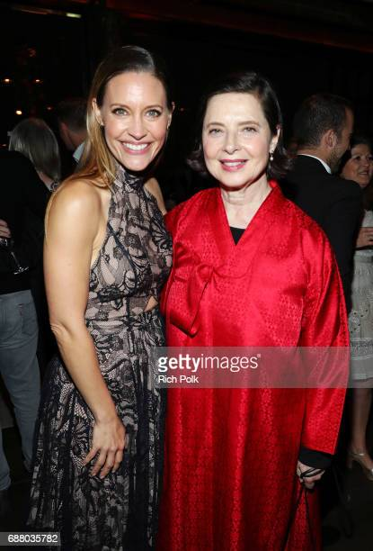 Actors KaDee Strickland and Isabella Rossellini attend the Sony Pictures Television LA Screenings Party on May 24 2017 in Los Angeles California
