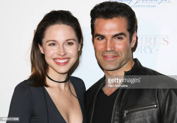 Actors Kaitlin Riley and Jordi Vilasuso attend the premiere of 'A Cowgirl's Story' at Pacific Theatres at The Grove on April 13 2017 in Los Angeles...