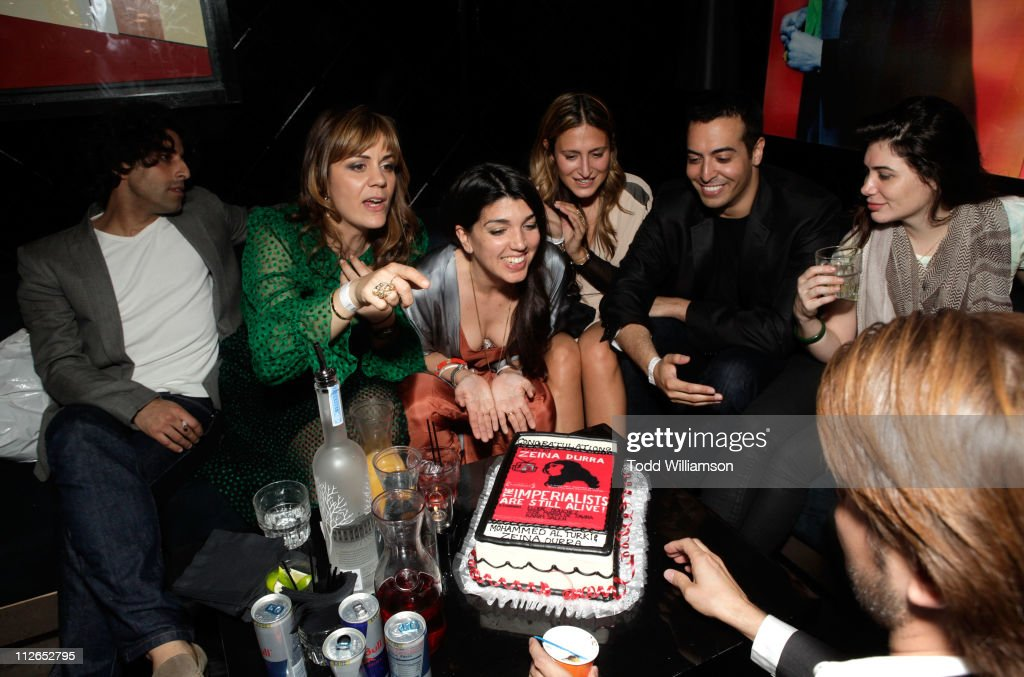 Actors Karim Saleh and Marianna Kulukundis, director Zeina Durra, Siran Manoukian and producer Mohammed Al Turki attend 'The Imperialists Are Still Alive!' after party held at Trousdale on April 19, 2011 in West Hollywood, California.