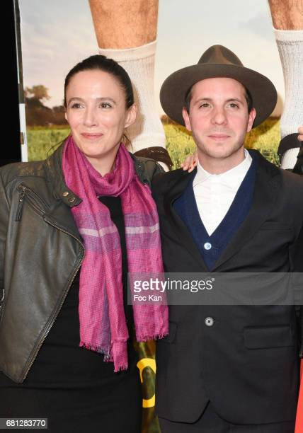 Actors Karine Valmer and Eddy Leduc attend 'Problemos' Paris Premiere At UGC Cine Cite Les Halles on May 9 2017 in Paris France