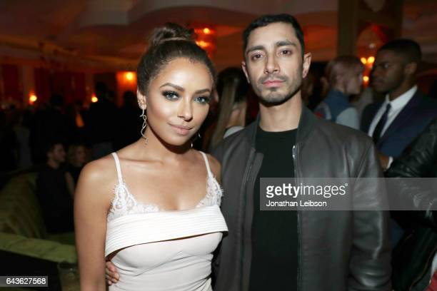 Actors Kat Graham and Riz Ahmed attend Vanity Fair and L'Oreal Paris Toast to Young Hollywood hosted by Dakota Johnson and Krista Smith at Delilah on...