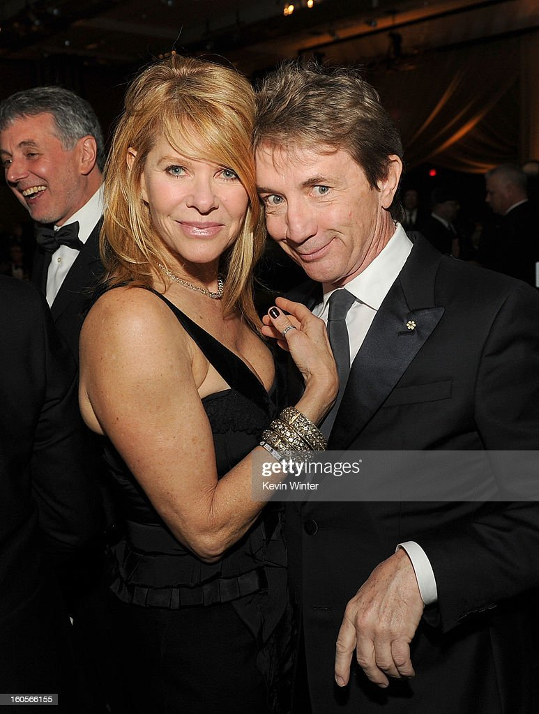 Actors Kate Capshaw and Martin Short attend the 65th Annual Directors Guild Of America Awards at Ray Dolby Ballroom at Hollywood & Highland on February 2, 2013 in Los Angeles, California.