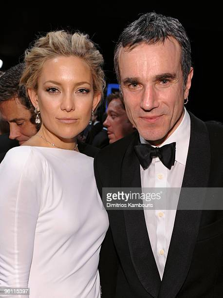 Actors Kate Hudson and Daniel DayLewis attend the TNT/TBS broadcast of the 16th Annual Screen Actors Guild Awards at the Shrine Auditorium on January...