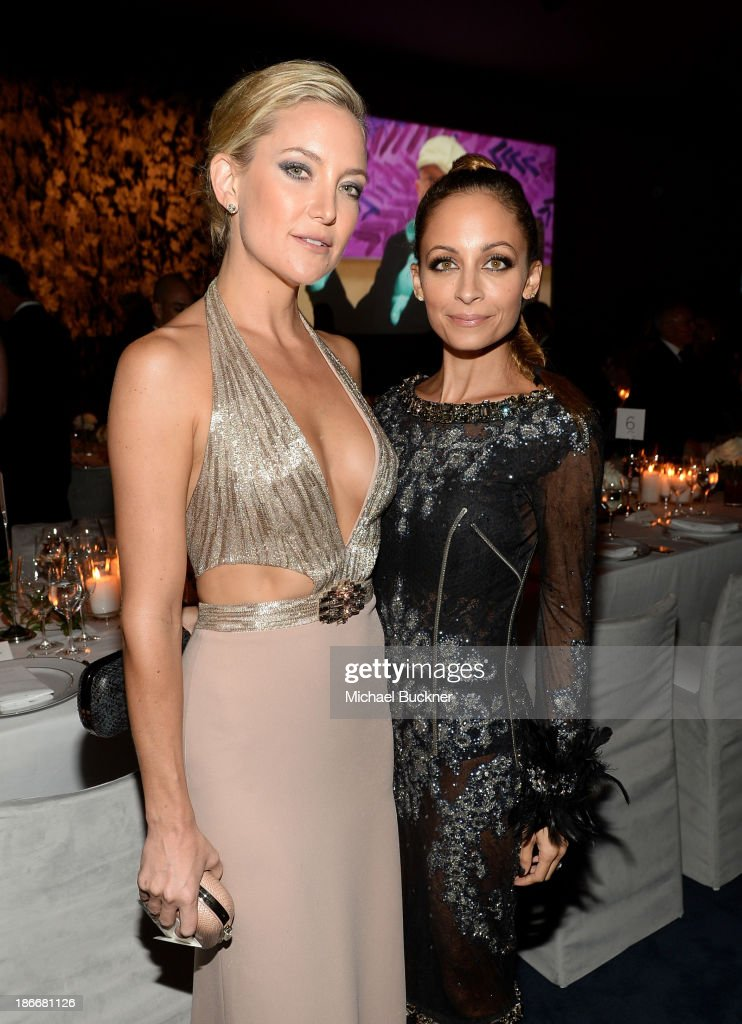 Actors <a gi-track='captionPersonalityLinkClicked' href=/galleries/search?phrase=Kate+Hudson&family=editorial&specificpeople=156407 ng-click='$event.stopPropagation()'>Kate Hudson</a> and <a gi-track='captionPersonalityLinkClicked' href=/galleries/search?phrase=Nicole+Richie&family=editorial&specificpeople=201646 ng-click='$event.stopPropagation()'>Nicole Richie</a> attend the LACMA 2013 Art + Film Gala honoring Martin Scorsese and David Hockney presented by Gucci at LACMA on November 2, 2013 in Los Angeles, California.