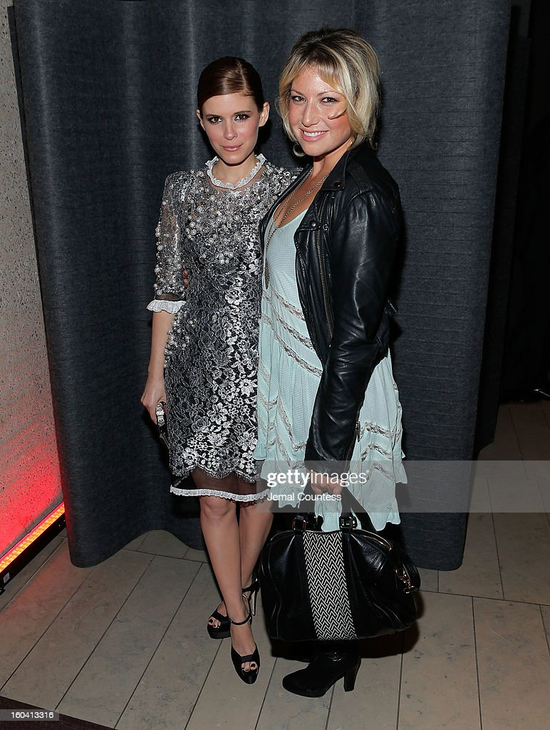 Actors Kate Mara and Ari Graynor attend Netflix's 'House Of Cards' New York Premiere After Party at Alice Tully Hall on January 30, 2013 in New York City.