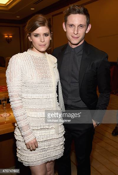 "Actors Kate Mara and Jamie Bell attend 2015 Will Rogers ""Pioneer of the Year"" Dinner Honoring Jim Gianopulos at Caesars Palace during CinemaCon the..."