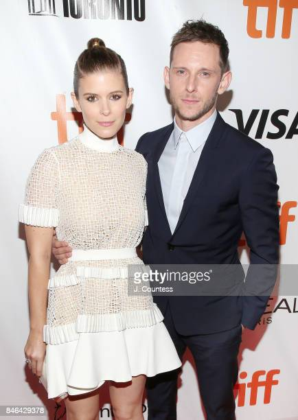 Actors Kate Mara and Jamie Bell attend the premiere of 'Film Stars Don't Die In Liverpool' during the 2017 Toronto International Film Festival at Roy...