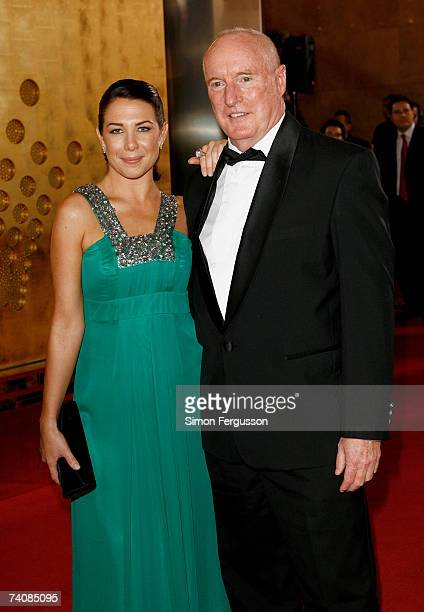 Actors Kate Ritchie and and Ray Meagher arrive at the 2007 TV Week Logie Awards at the Crown Casino on May 6 2007 in Melbourne Australia The annual...