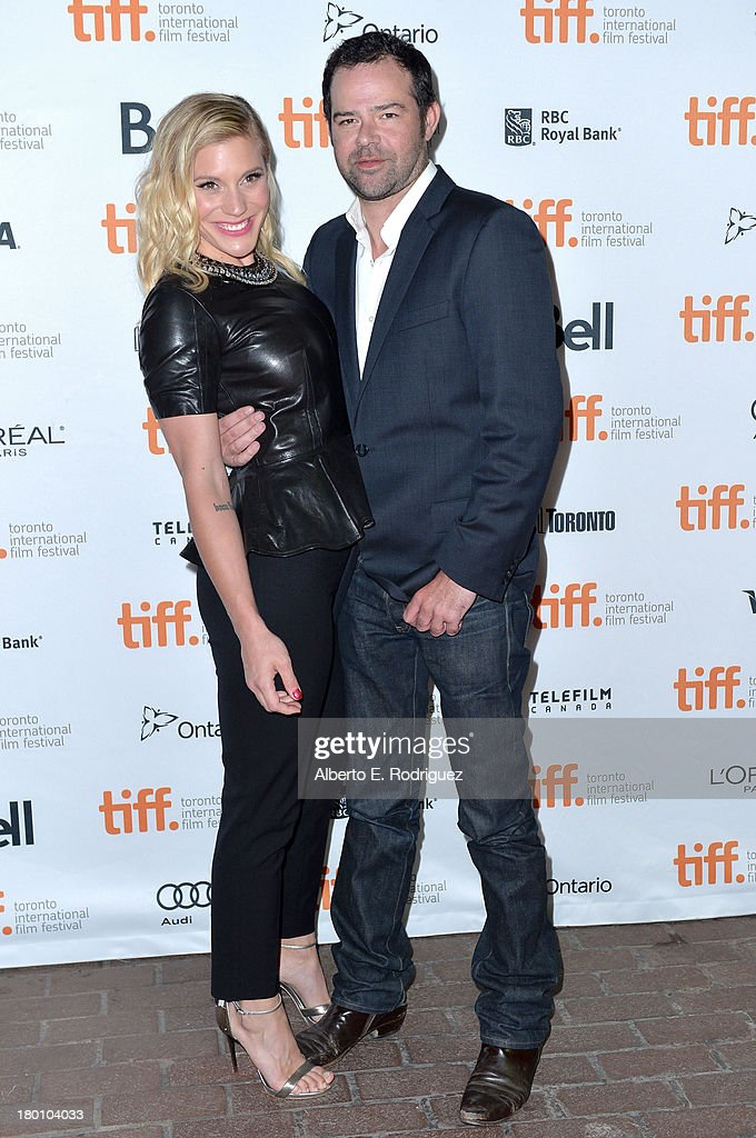Actors Katee Sackhoff (L) and Rory Cochrane attend the 'Oculus' premiere during the 2013 Toronto International Film Festival at Ryerson Theatre on September 8, 2013 in Toronto, Canada.