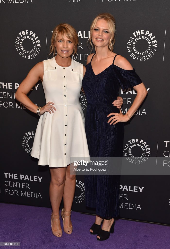 Actors Kathleen Rose Perkins and Mircea Monroe attends the 2017 PaleyLive LA Summer Season Premiere Screening And Conversation For Showtime's 'Episodes' at The Paley Center for Media on August 16, 2017 in Beverly Hills, California.