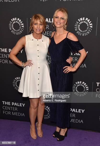 Actors Kathleen Rose Perkins and Mircea Monroe attends the 2017 PaleyLive LA Summer Season Premiere Screening And Conversation For Showtime's...