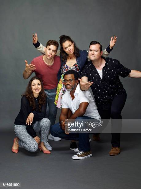 Actors Kathryn Alexandre Jordan Gavaris Tatiana Maslany Kevin Hanchard and Kristian Bruun from 'Orphan Black' are photographed for Entertainment...